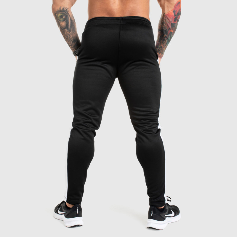 Jogger tepláky Iron Aesthetics Sport Track, čierne-6