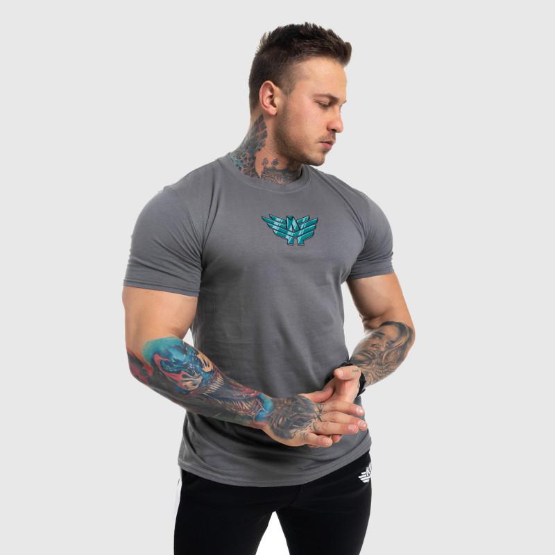 Ultrasoft tričko Iron Aesthetics FIST, sivé-5
