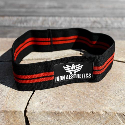 Posilňovacia guma Iron Aesthetics, black
