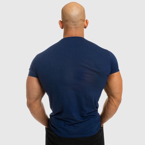 Pánske fitness tričko Iron Aesthetics Be Stronger, modré
