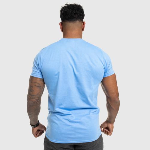 Pánske fitness tričko IRON, modré