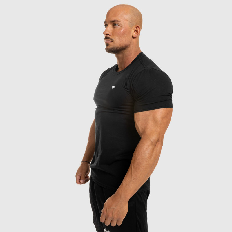 Pánske fitness tričko Iron Aesthetics Standard, čierne-7