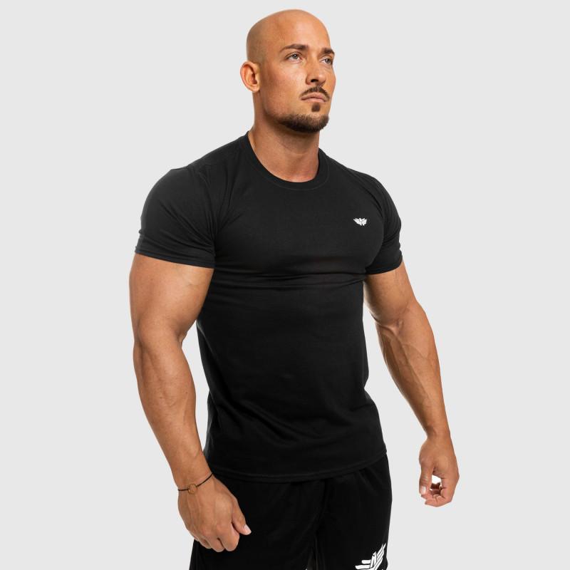 Pánske fitness tričko Iron Aesthetics Standard, čierne-8