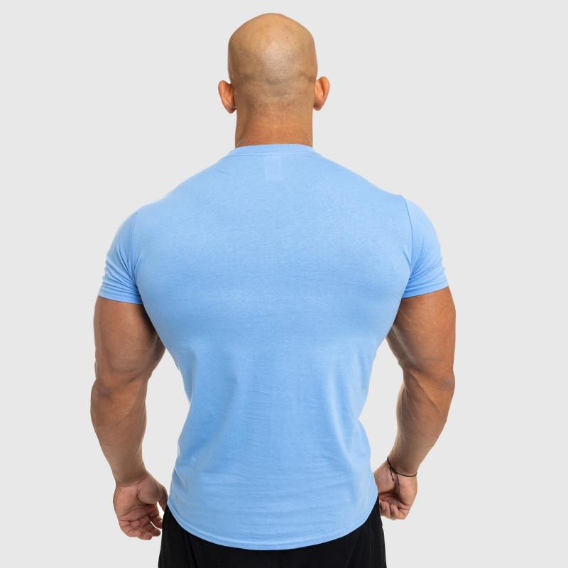 Pánske fitness tričko Iron Aesthetics Standard, modré-2