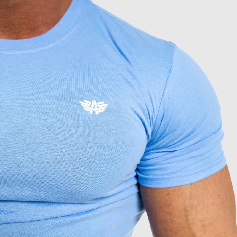 Pánske fitness tričko Iron Aesthetics Standard, modré-3