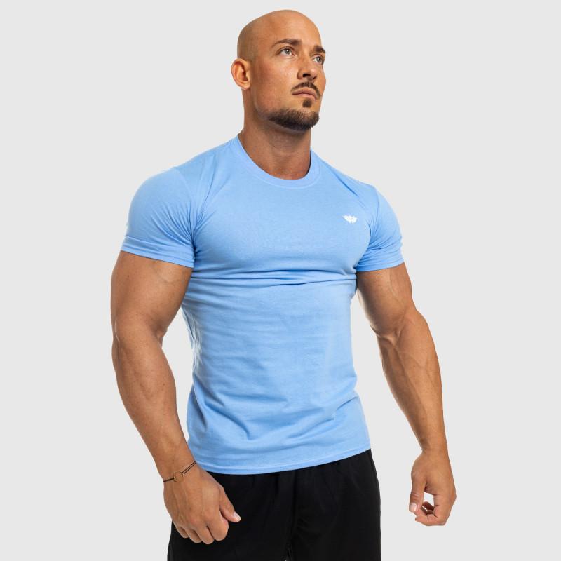 Pánske fitness tričko Iron Aesthetics Standard, modré-4