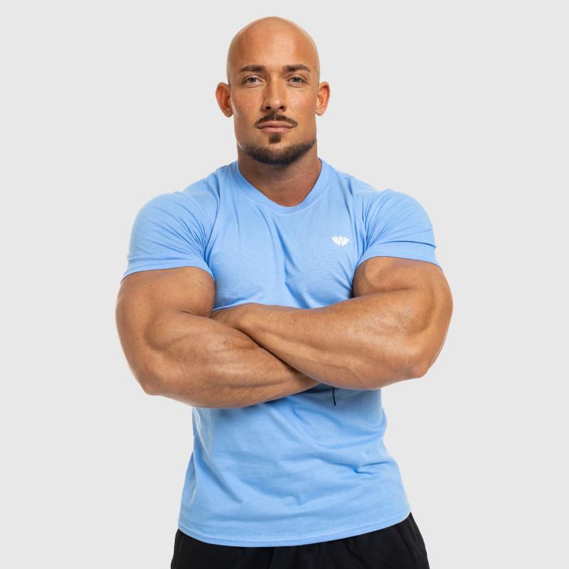 Pánske fitness tričko Iron Aesthetics Standard, modré-6
