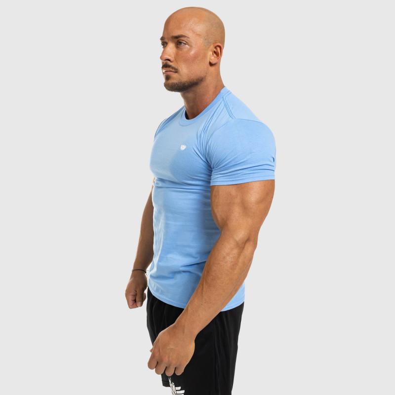 Pánske fitness tričko Iron Aesthetics Standard, modré-7