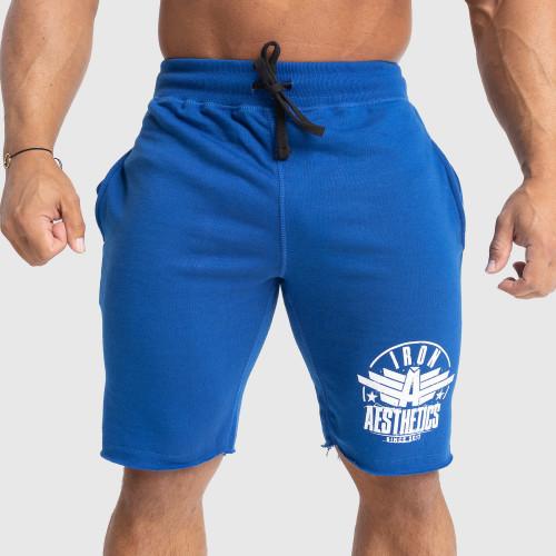 Pánske teplákové kraťasy Iron Aesthetics Force, modré