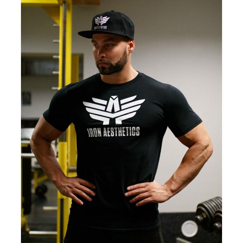 Ultrasoft tričko Iron Aesthetics, čierne-4