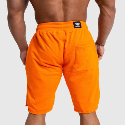 Pánske teplákové kraťasy Iron Aesthetics Force, oranžové