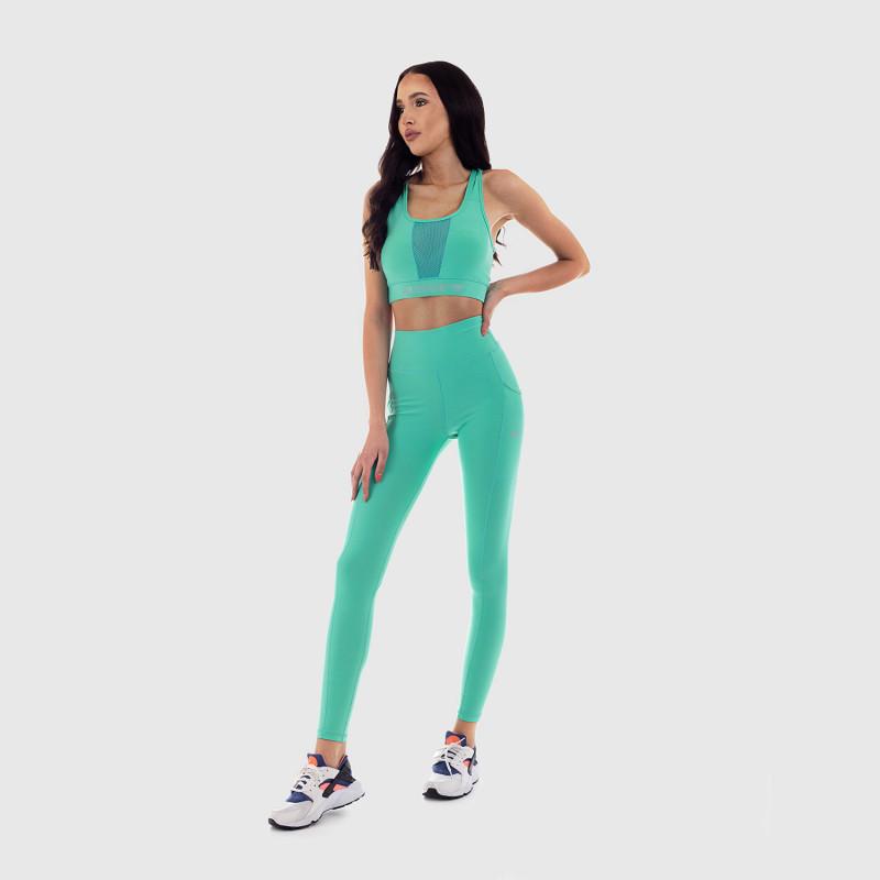 Dámska fitness súprava Iron Aesthetics Pocket, mentolová-3