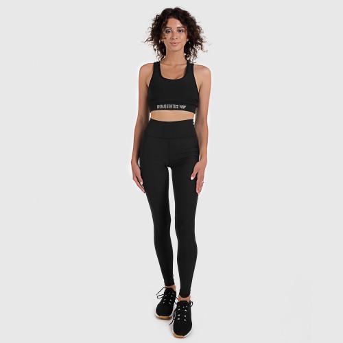 Dámska fitness súprava Iron Aesthetics Pocket, čierna