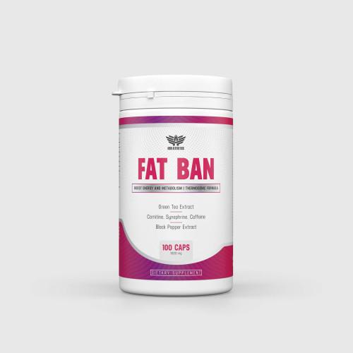 Spaľovač tukov Fat Ban 100 kaps - Iron Aesthetics