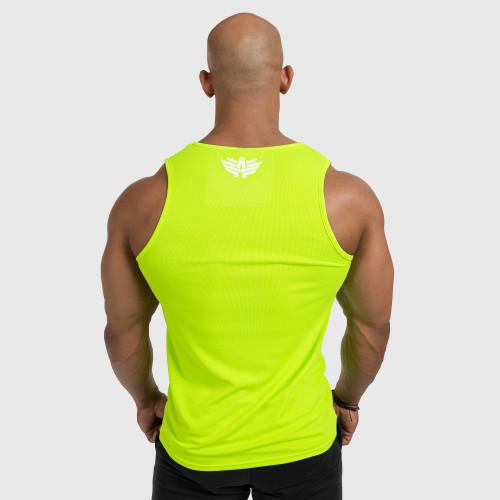 Pánske fitness TIELKO Iron Aesthetics Iron Man, Neon Green