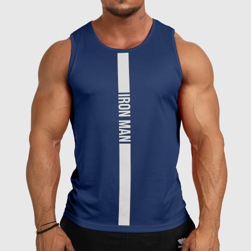 Pánske fitness TIELKO Iron Aesthetics Iron Man, navy
