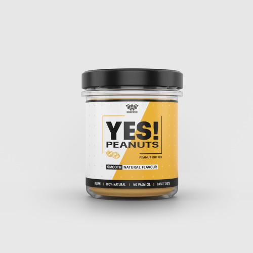 Arašidové maslo YES! Peanuts 340 g - Iron Aesthetics