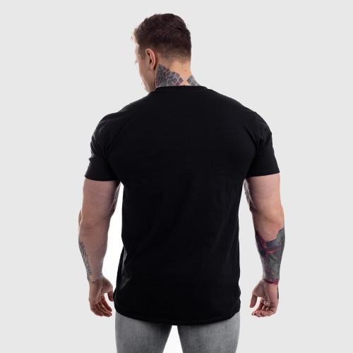 Ultrasoft tričko Iron Aesthetics, čierne
