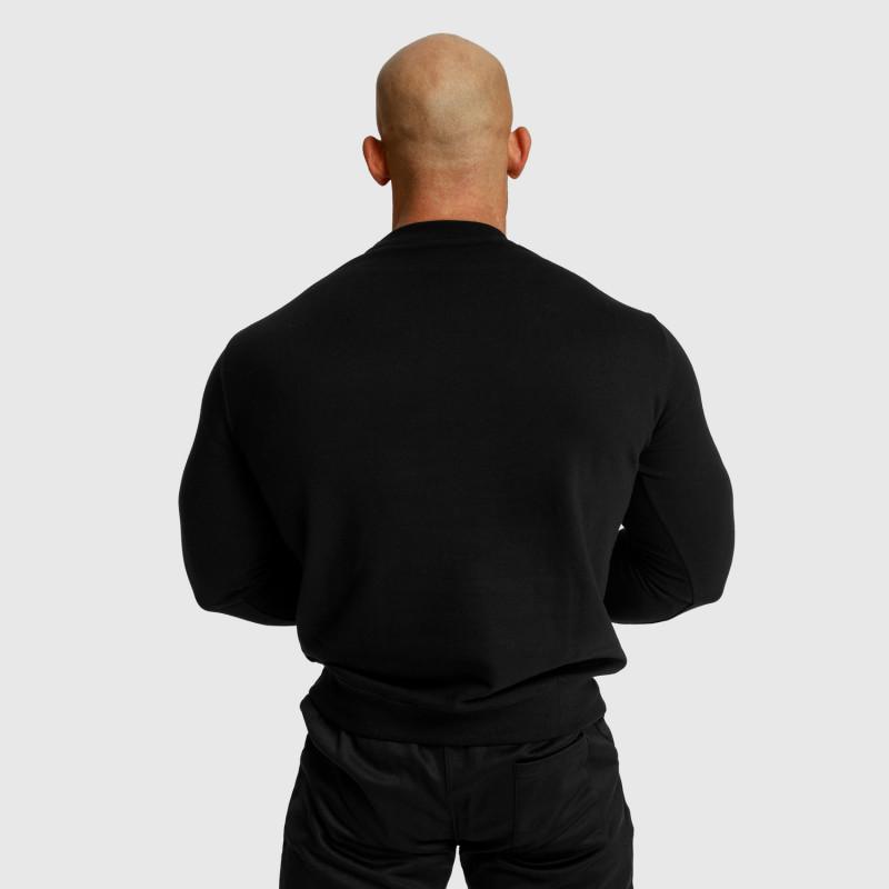 Mikina bez kapucne Iron Aesthetics Boxed, čierna-3