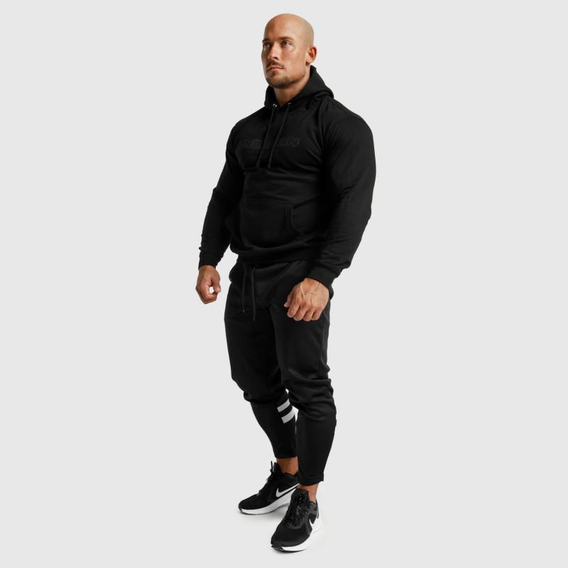 Fitness mikina bez zipsu Iron Aesthetics Unbroken, čierna-7