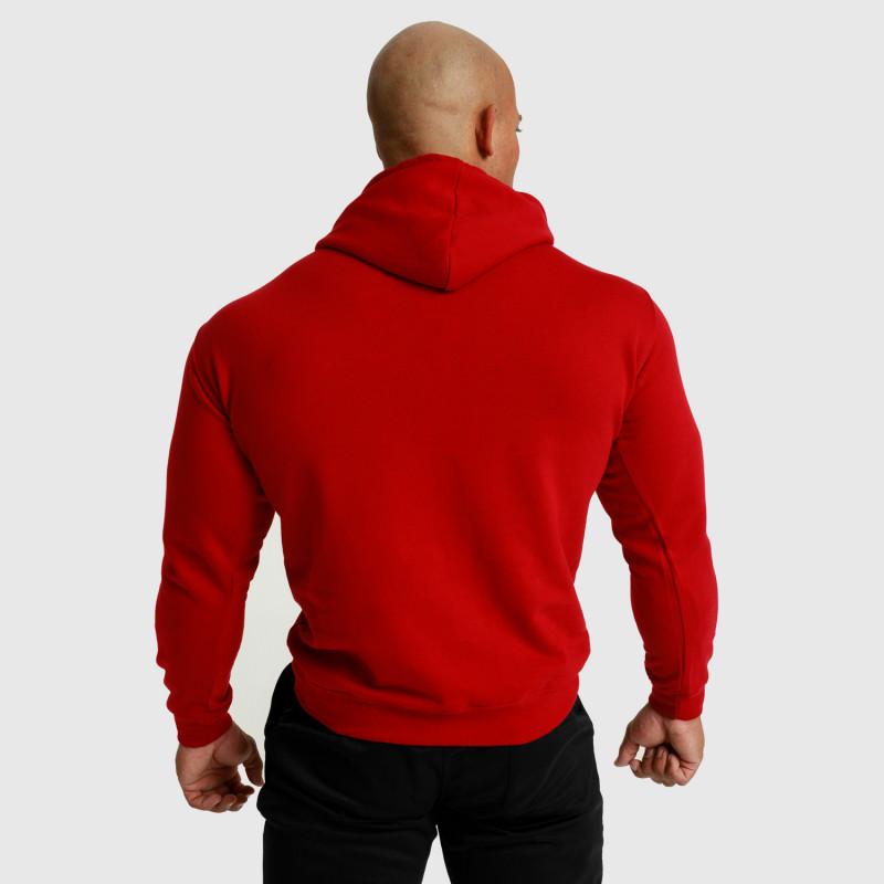 Fitness mikina bez zipsu Iron Aesthetics Unbroken, červená-3