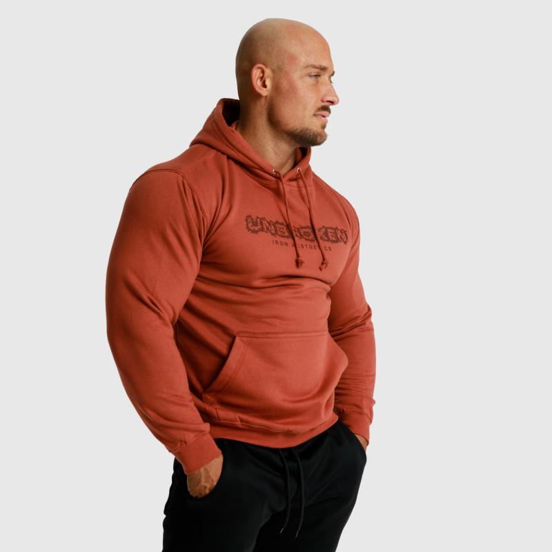 Fitness mikina bez zipsu Iron Aesthetics Unbroken, rustikal-5