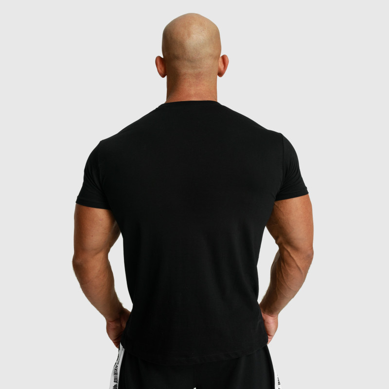 Pánske fitness tričko Iron Aesthetics Unbroken, čierne-4