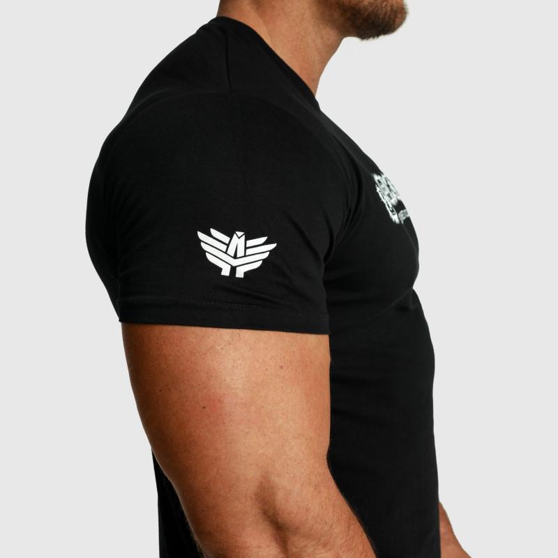 Pánske fitness tričko Iron Aesthetics Unbroken, čierne-6