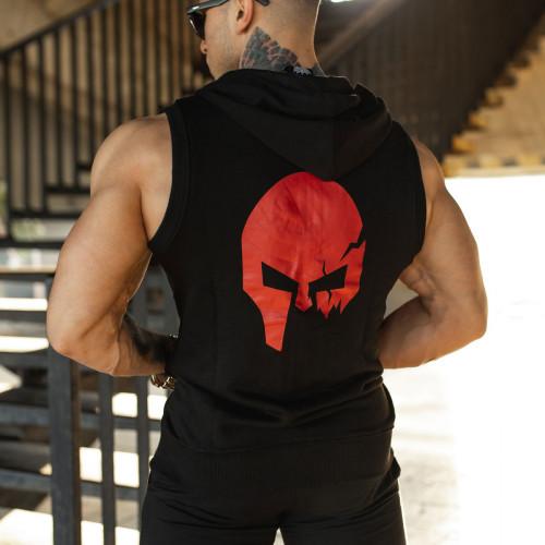 Pánska mikina Iron Aesthetics Sleeveless Skull, B&R