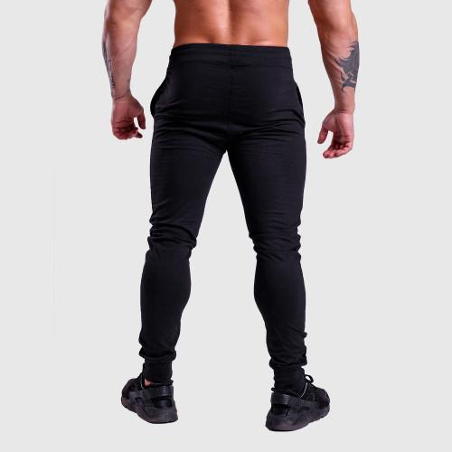 Jogger tepláky Iron Aesthetics Vertical, čierno-biele