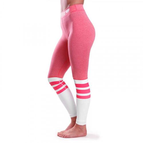 Dámske legíny Stripes - Iron Aesthetics, ružové